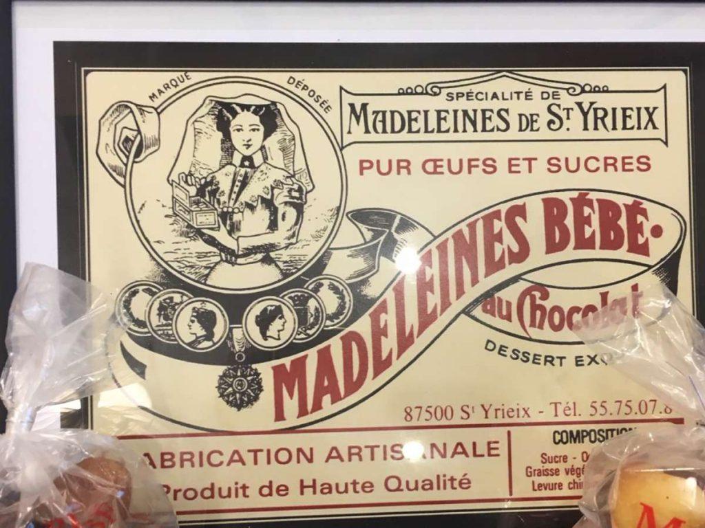 Stripfood Madeleines 2