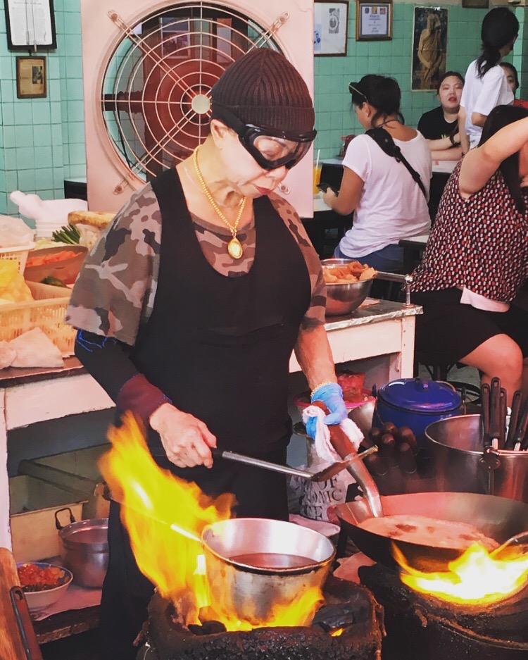 Jai Testé Lunique étoilé Michelin De Streetfood à Bangkok