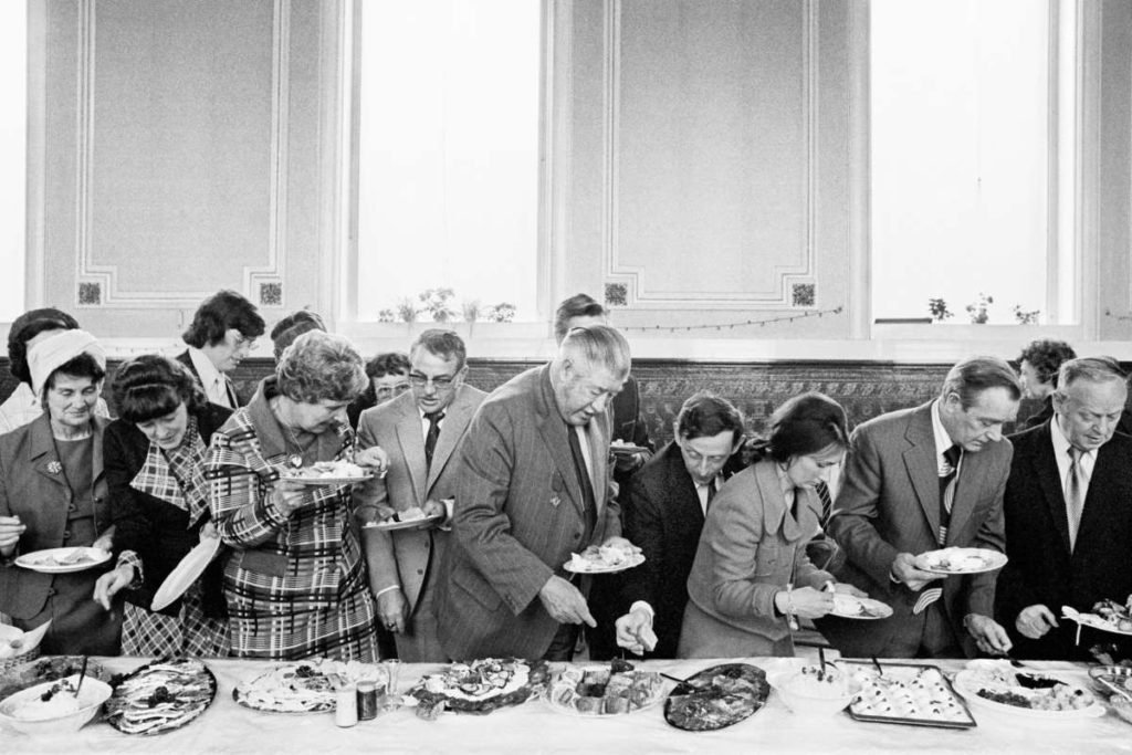 Martin Parr Mayor Of Todmordens Inaugural Banquet 1977 Martin Parr. From The Non Conformist Series Copy