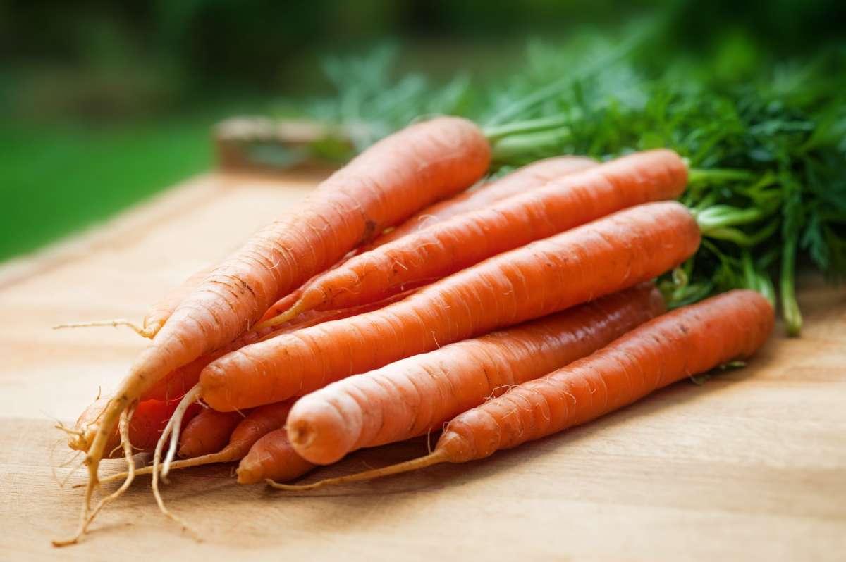 Orange Carrots On Table 143133