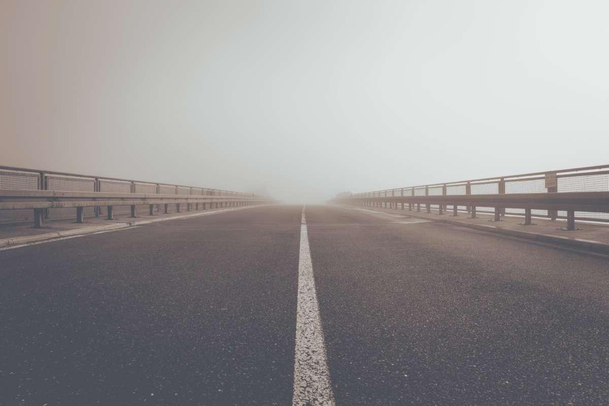 Road Street Fog Path 229014