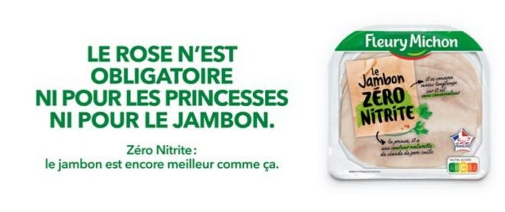 Campagne Affichage Fleury Michon Jambon Sans Nitrite