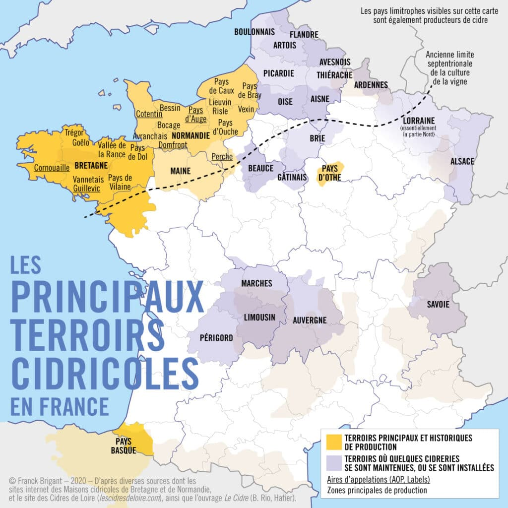 Carte Des Terroirs Franck Brigant
